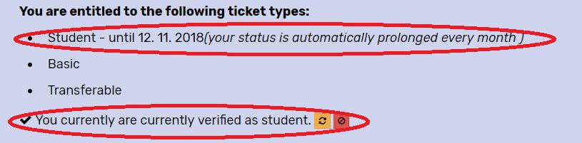 student status online
