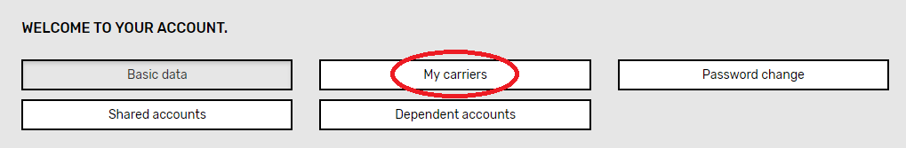 add a carrier